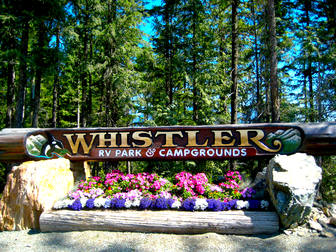 Whistler RV Park Campground Photos